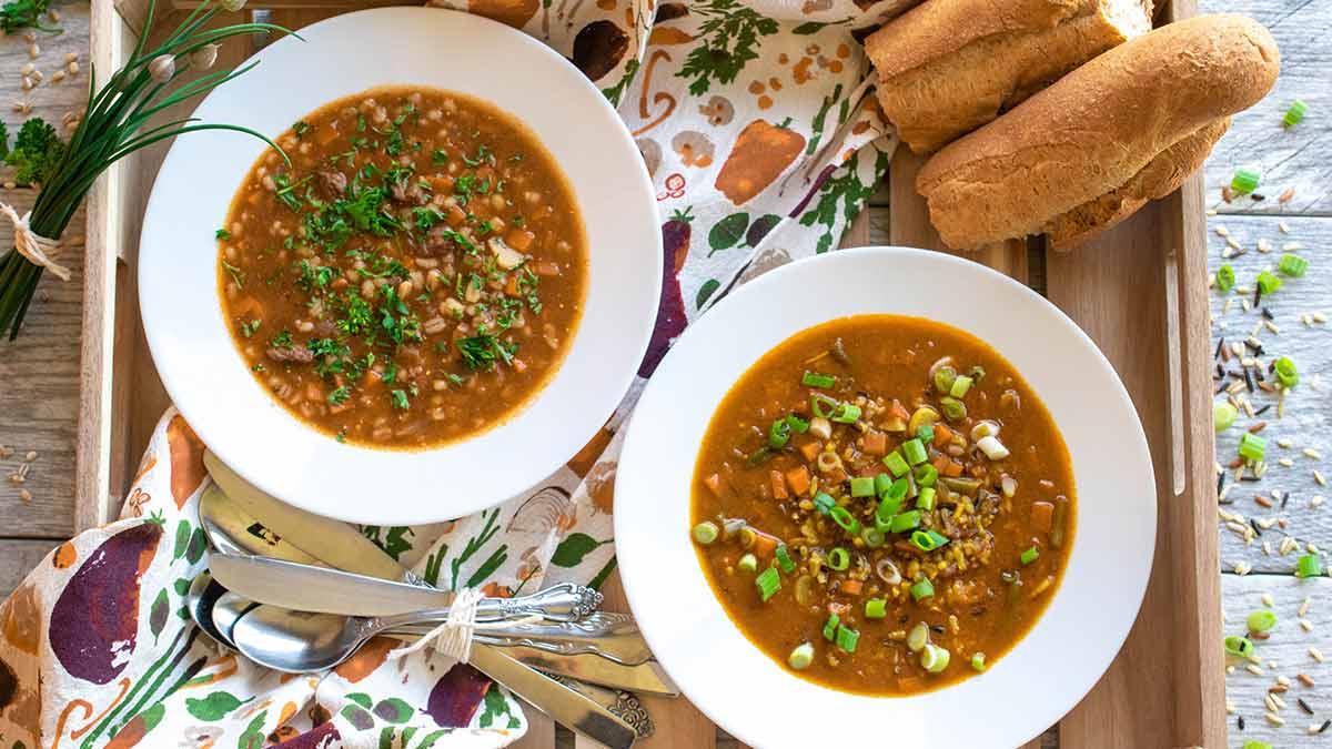 Créez mille et une soupes
